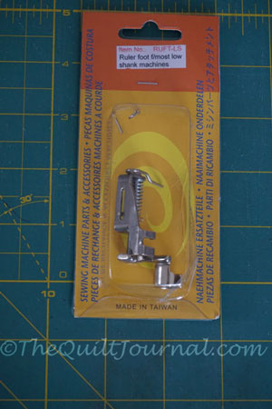 Free Motion Quilting Ruler Foot The Quilt Journal Unique Ruler Foot For Brother Sewing Machine