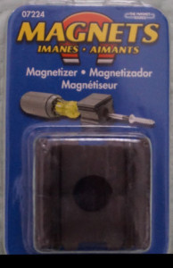 a picture of a tool that will magnetize as well as demagnetize metal objects