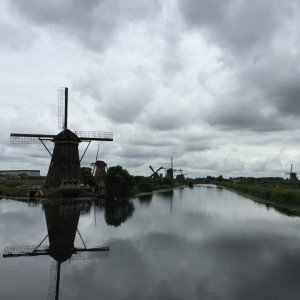 Picture of windmills in Holland