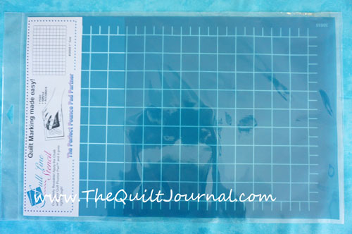 Review of Full Line Quilt Stencils and Pounce - The Quilt Journal