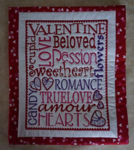 Valentine's Day Pillow Talk slip co