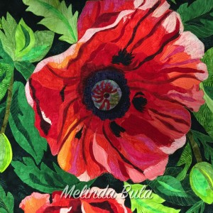 poppy quilt by melinda Bula