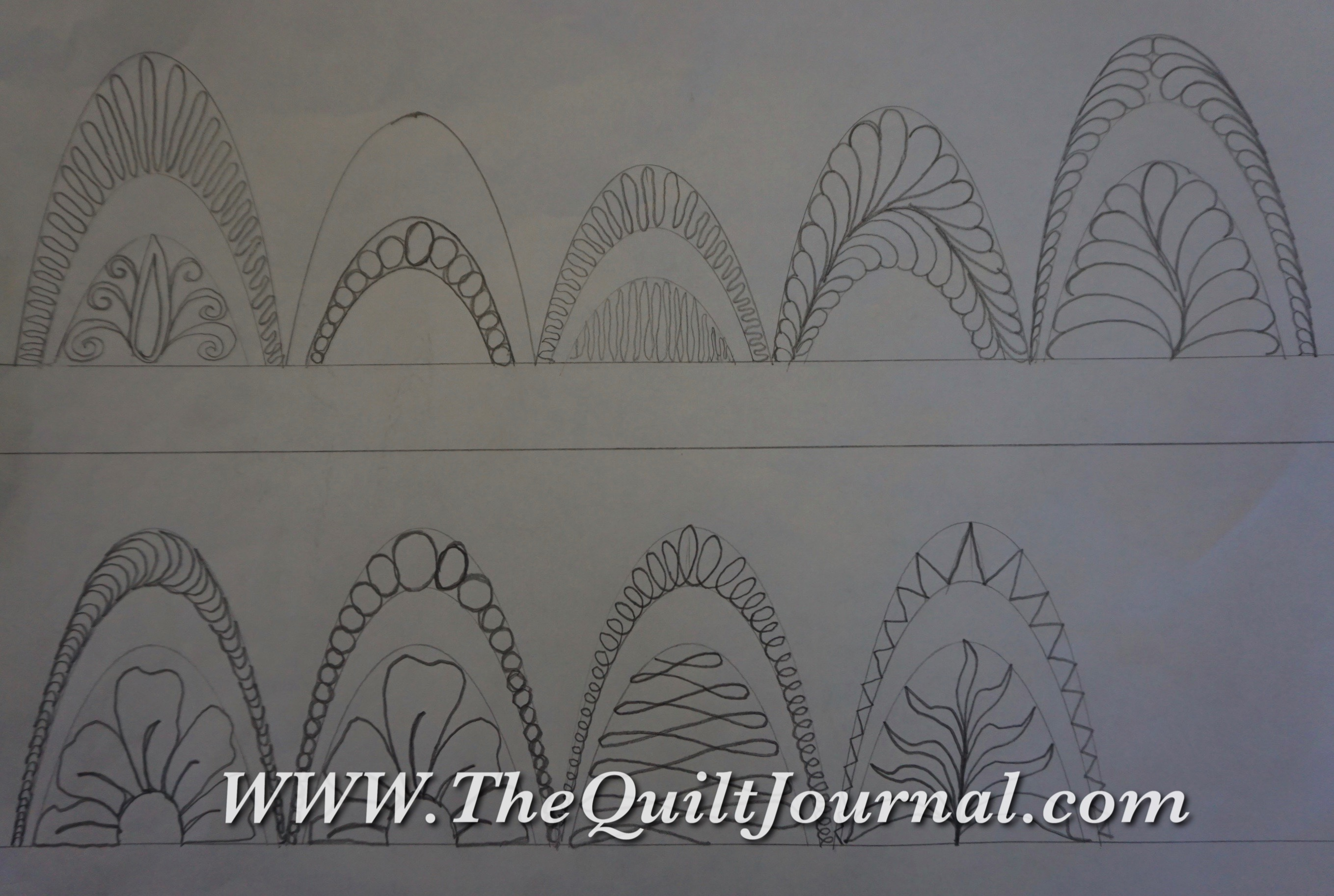 free motion quilting on a sit down machine Archives - The Quilt Journal