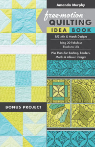 a picture of Free-Motion Quilting Idea Book By Amanda Murphy